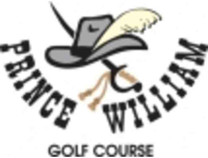 Prince William Golf Course - A foursome with carts