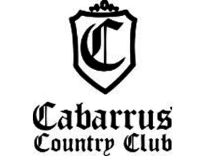 Cabarrus Country Club - One foursome with carts