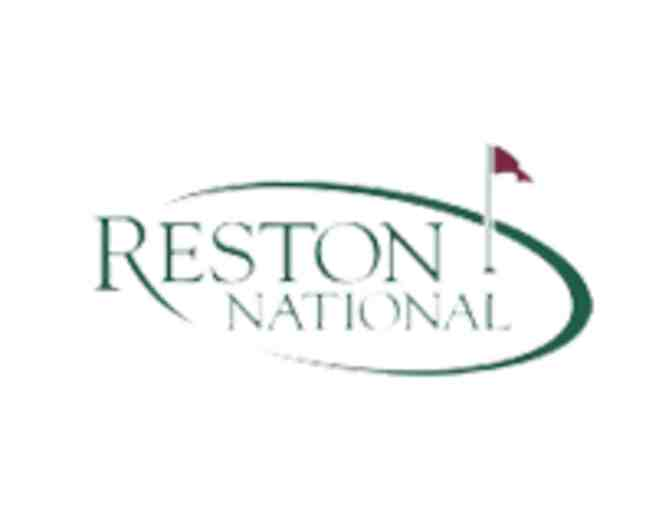 Reston National Golf Course - One foursome with carts