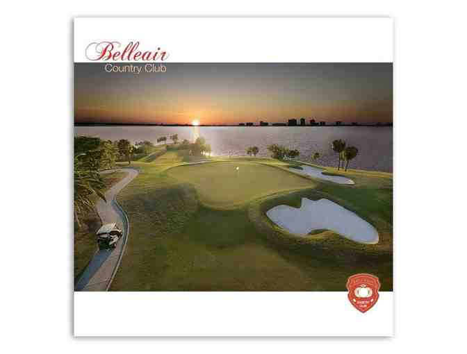 Belleair Country Club - One foursome with carts