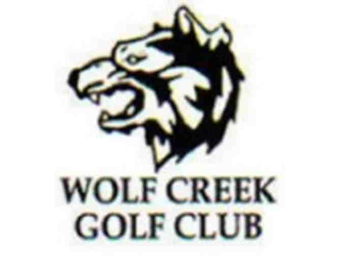 Wolf Creek Golf Course - One foursome with cart