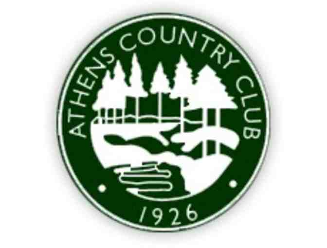 Athens Country Club - One foursome with carts