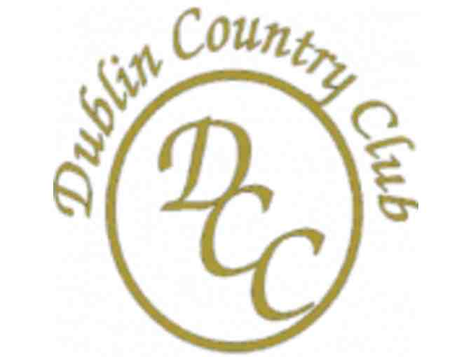 Dublin Country Club - One foursome with carts
