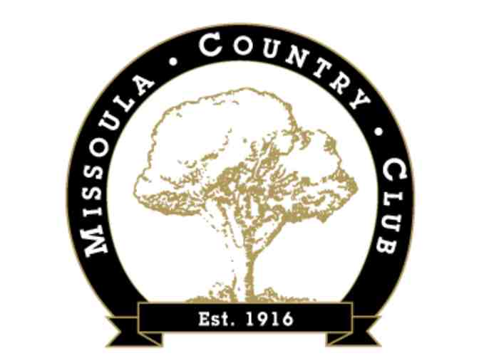 Missoula Country Club - One foursome with carts