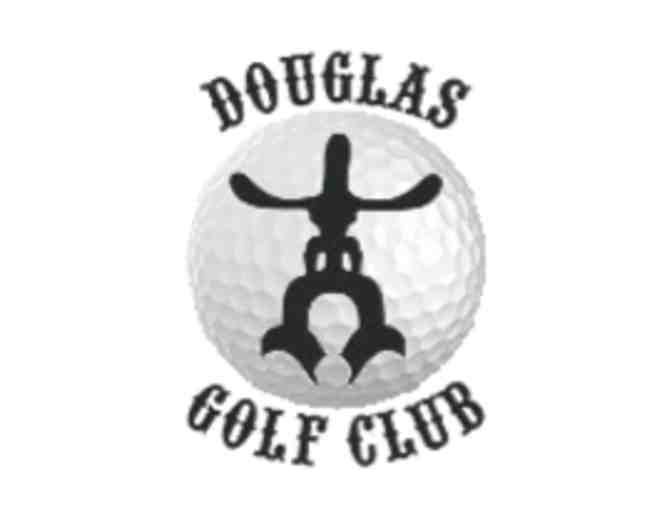 Douglas Community Golf Course - One foursome with carts
