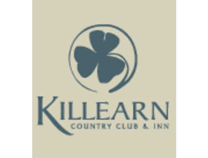 Killearn Country Club - One foursome with carts and range balls