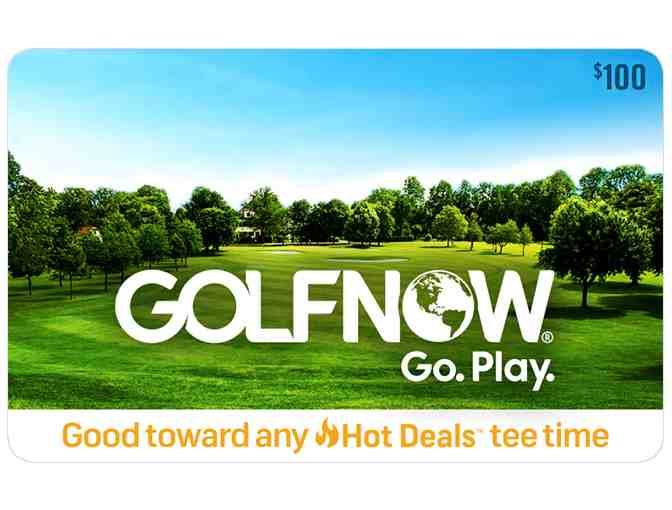 GolfNow Gift Card -- $100 value