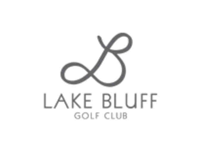 Lake Bluff Golf Club - One foursome with carts