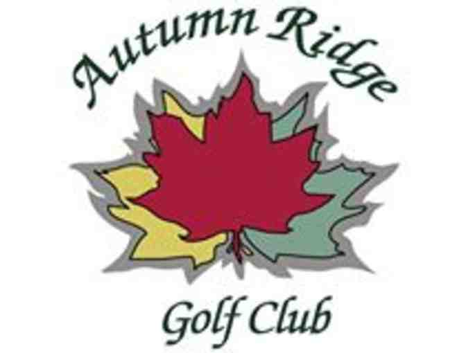 Autumn Ridge Golf Club - One foursome with carts