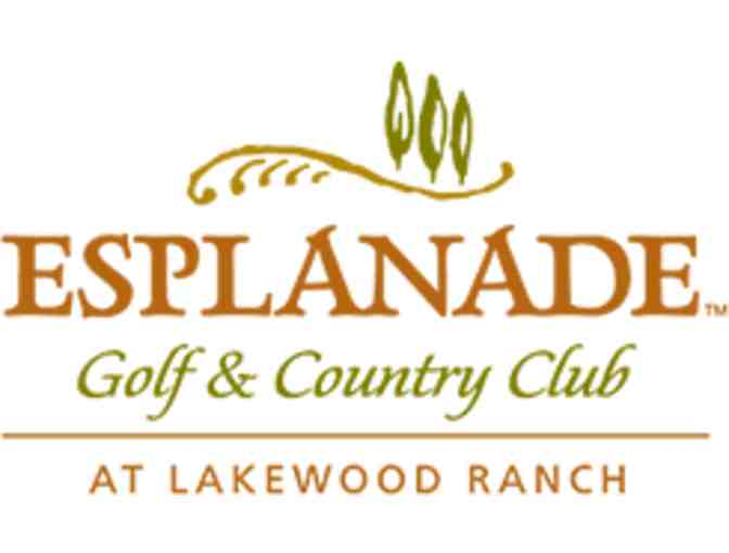 Esplanade Golf and Country Club at Lakewood Ranch - A foursome with carts