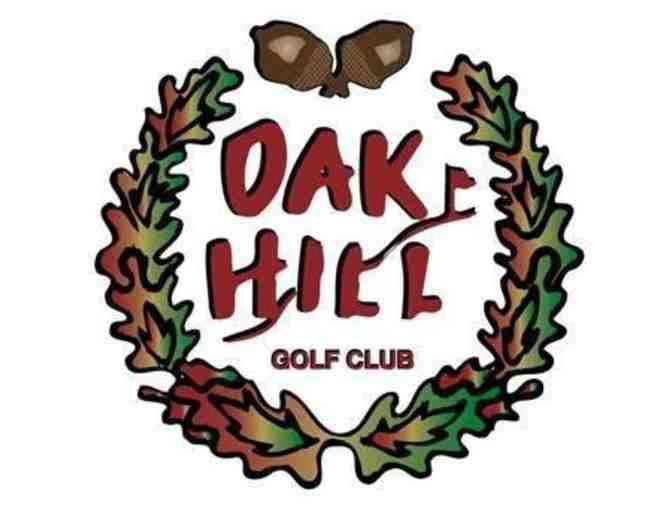 Oak Hill Golf Club - One foursome with carts