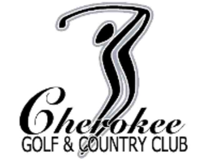 Cherokee Golf and Country Club - One foursome with carts