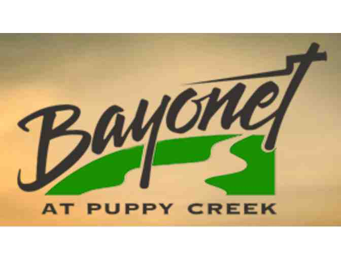 Bayonet at Puppy Creek - One foursome with carts