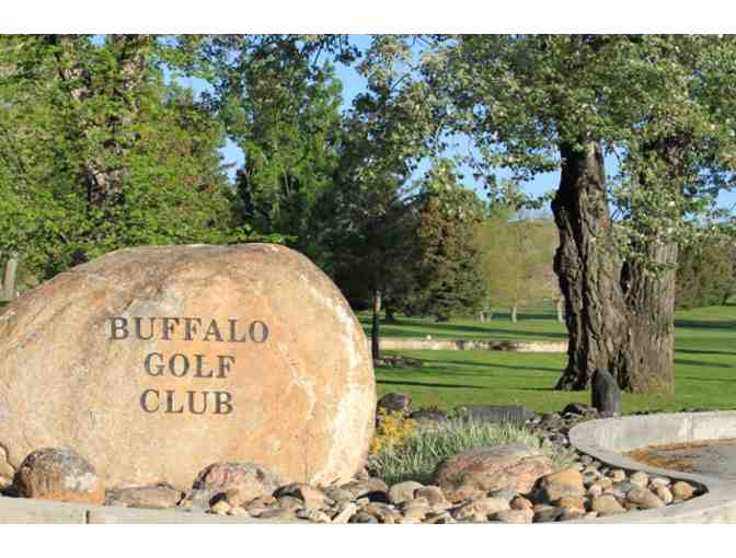 Buffalo Golf Club - One foursome with carts