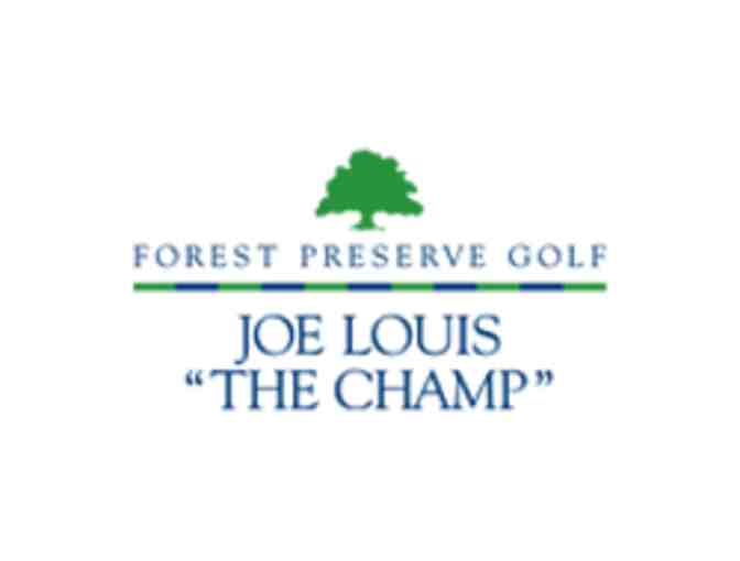 Joe Louis 'The Champ' Golf Club - One foursome with carts