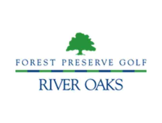 River Oaks Golf Course - One foursome with carts