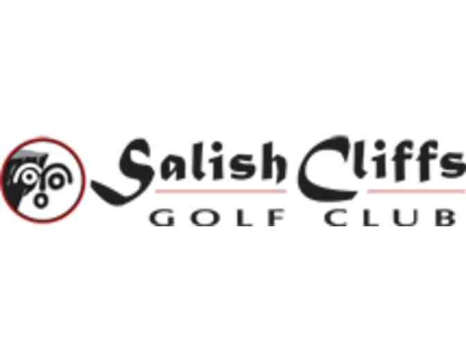 Salish Cliffs Golf Club - One foursome with carts