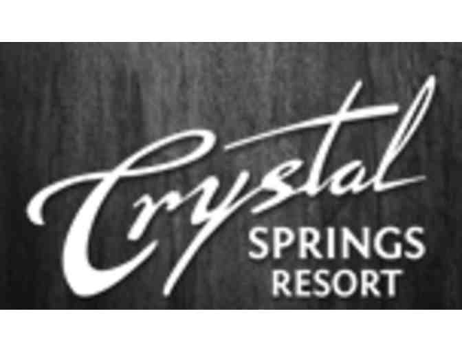 Crystal Springs Resort - One foursome with carts