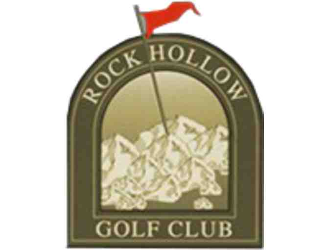 Rock Hollow Golf Club - One twosome with cart
