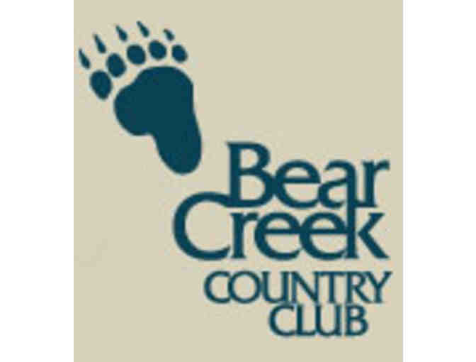 Bear Creek Country Club - One foursome with carts