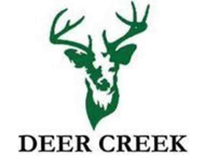 Deer Creek Golf Club - One foursome with carts