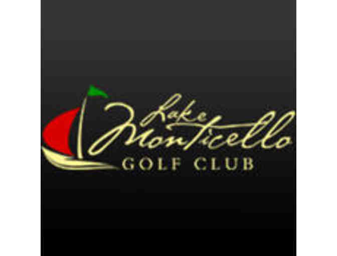 Lake Monticello Golf Club - One foursome with carts