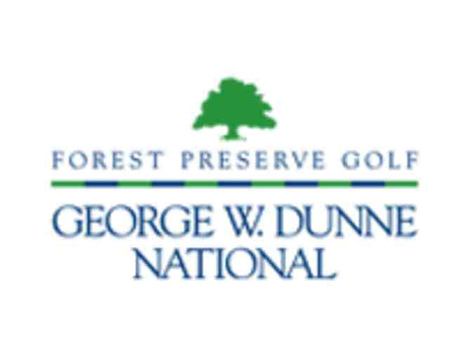 George Dunne National Golf Course - One foursome with carts