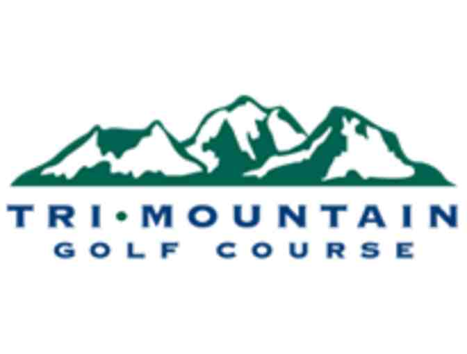 Tri-Mountain Golf Club - One foursome with carts
