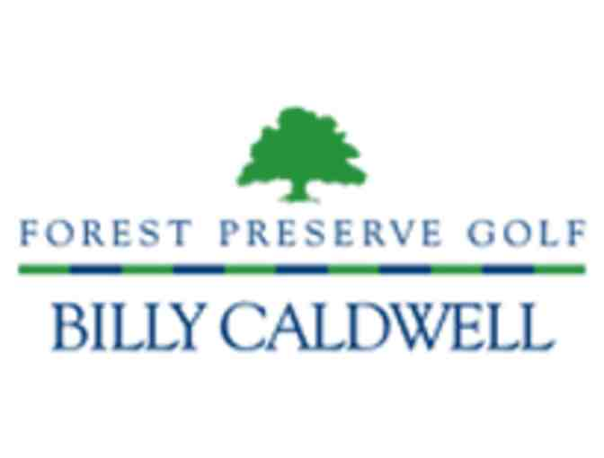 Billy Caldwell Golf Course - One foursome with carts