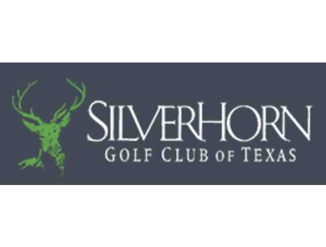 SilverHorn Golf Club - One foursome with carts