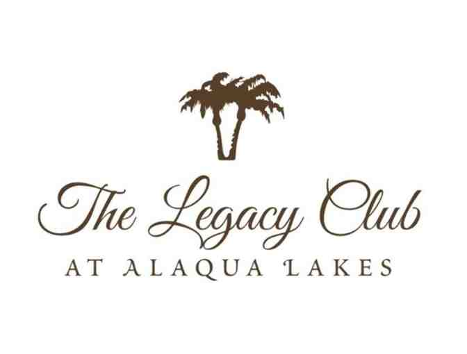 Legacy Club at Alaqua Lakes - One foursome with carts