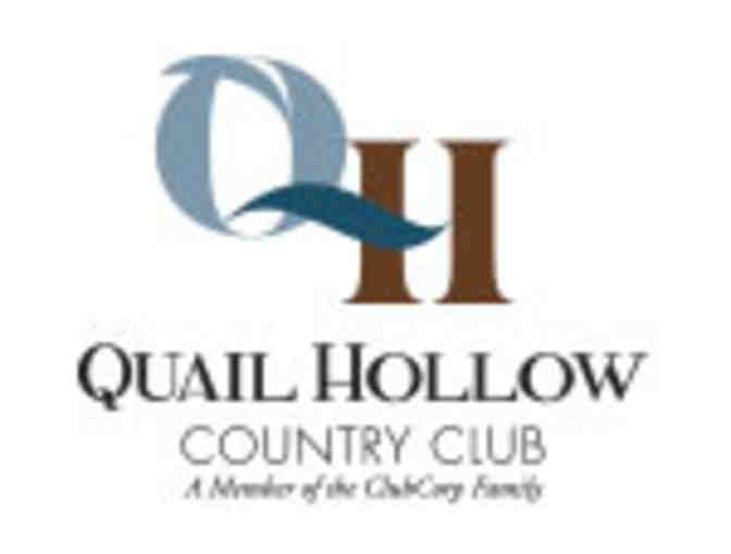 Quail Hollow Country Club - One foursome with carts