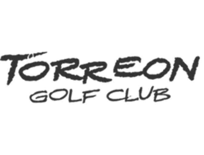 Torreon Golf Club - One foursome with carts and range balls
