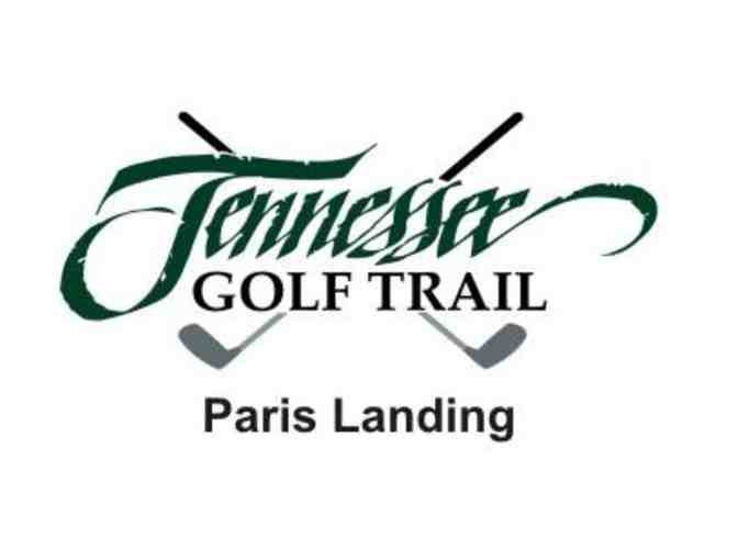 Paris Landing State Park Golf Course - One foursome with carts and range balls