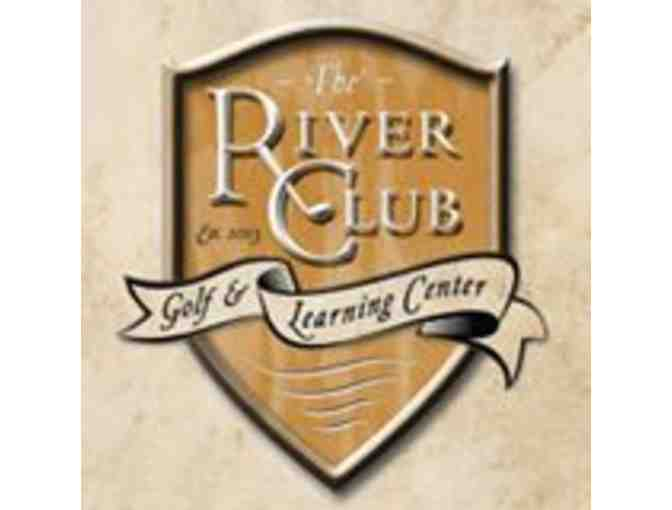 The River Club Golf & Learning Center - One foursome with carts