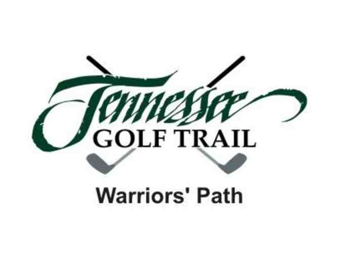 Warriors' Path State Park Golf Course - One foursome with carts and range balls