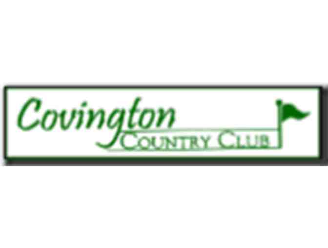 Covington Country Club - One foursome with carts