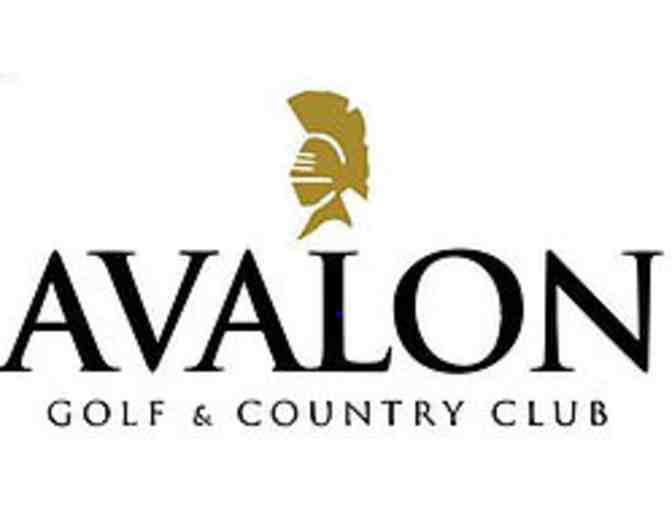 Avalon Golf & Country Club - One foursome with carts