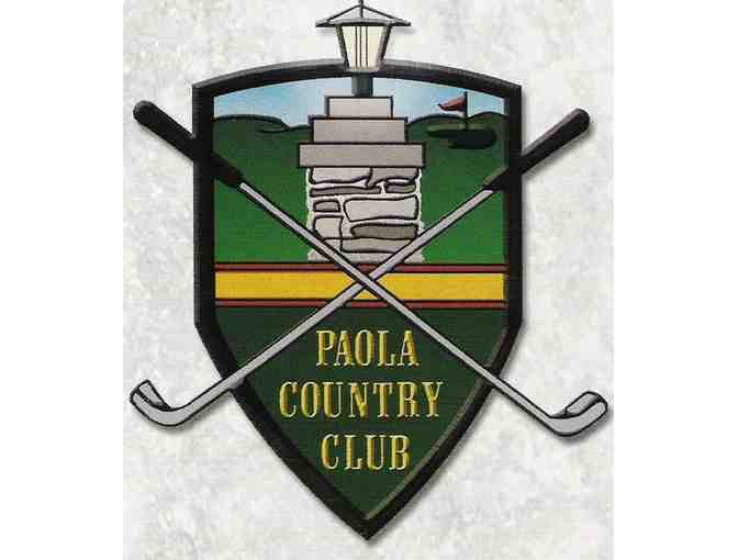Paola Country Club - One foursome with carts