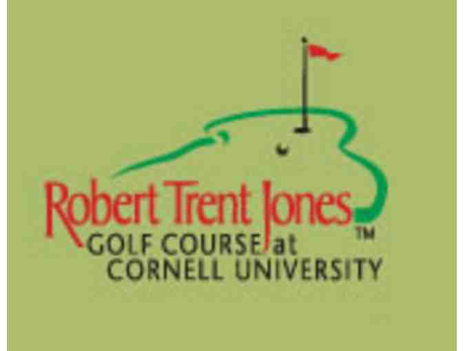 Robert Trent Jones Golf Course at Cornell University - One foursome with carts