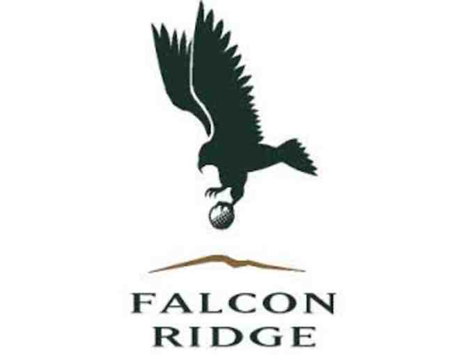 Falcon Ridge Golf Course - One foursome with carts