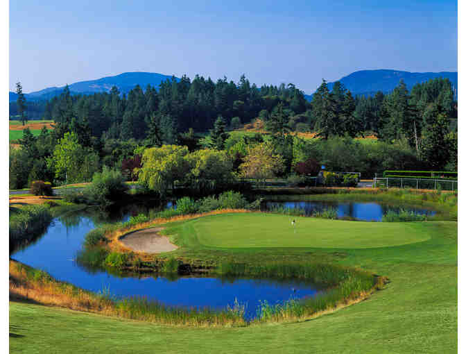 Arbutus Ridge Golf Club - One foursome with carts
