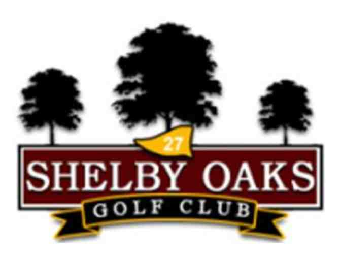 Shelby Oaks Golf Course - One foursome with carts