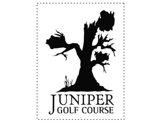 Juniper Golf Course - One twosome with cart