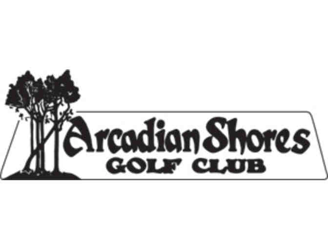 Arcadian Shores Golf Club - One foursome with carts