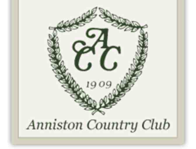 Anniston Country Club - One foursome with carts