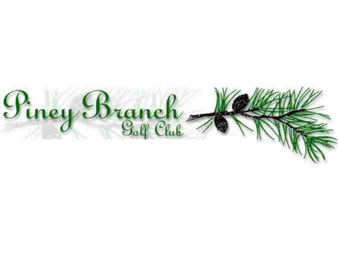 Piney Branch Golf Club - A foursome with carts