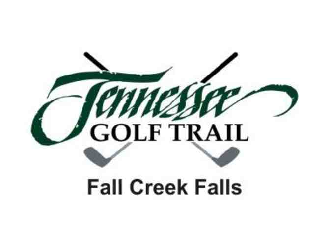 Fall Creek Falls State Park Golf Course - One foursome with carts and range balls