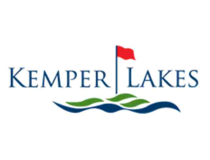 Kemper Lakes Golf Club - One foursome with carts and driving range