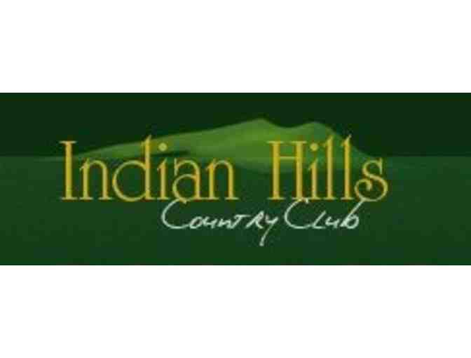 Indian Hills Country Club - One foursome